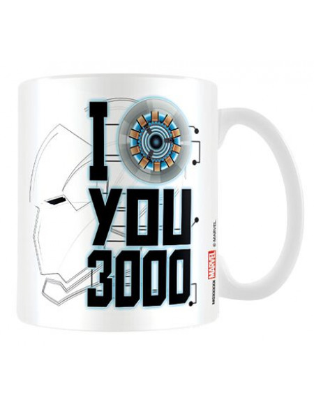 Avengers Endgame - I Love You 3000 Mug multicolore