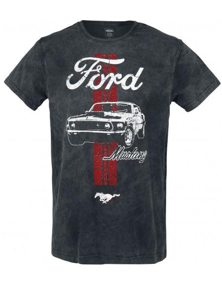 Ford Mustang T-shirt noir