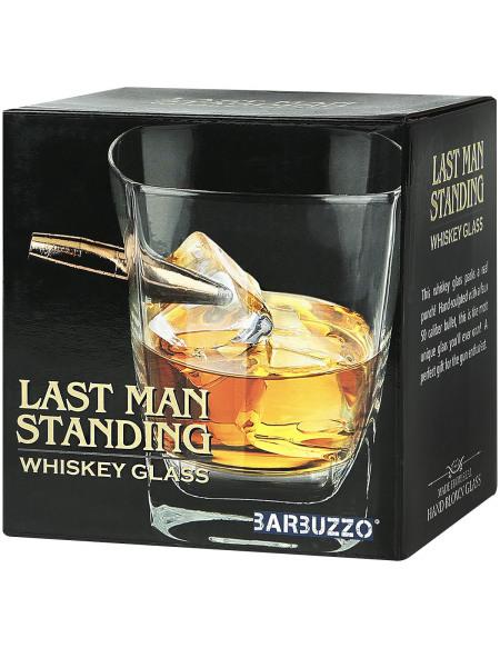 Last Man Standing Whiskey Glass Verre transparent