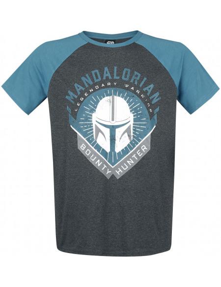 Star Wars The Mandalorian - Bounty Hunter T-shirt multicolore