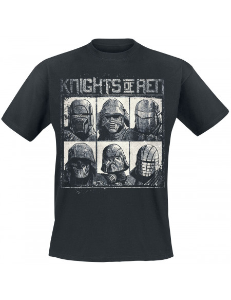 Star Wars Épisode 9 - L'Ascension de Skywalker - Knights Of Ren T-shirt noir
