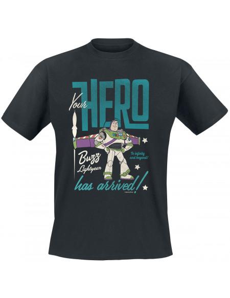 Toy Story Buzz L'Éclair - Héros T-shirt noir