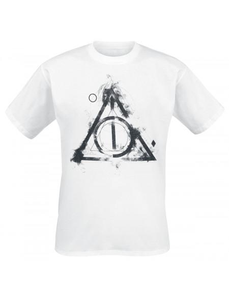 Harry Potter Les Reliques De La Mort T-shirt blanc