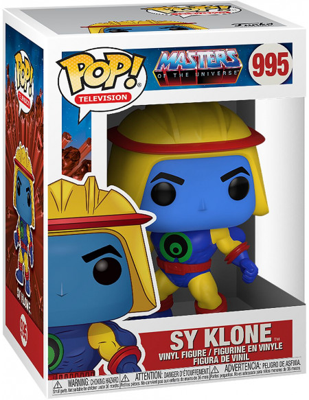 Masters Of The Universe Sy-Klone - Funko Pop! n°995 Figurine de collection Standard