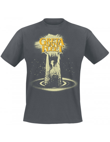 Greta Van Fleet Cinematic Lights T-shirt gris foncé