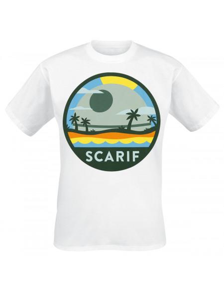 Star Wars Scarif T-shirt blanc