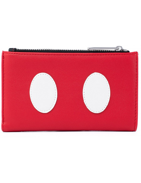 Mickey & Minnie Mouse Loungefly - Micky Cosplay Portefeuille noir/blanc/rouge