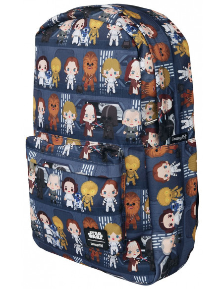Star Wars Loungefly - Chibi Sac à Dos multicolore