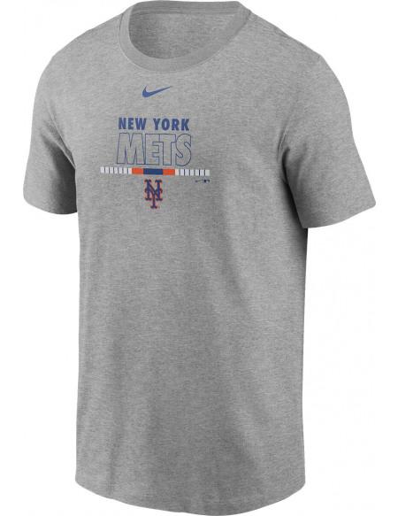 MLB Nike - New York Mets T-shirt gris sombre chiné