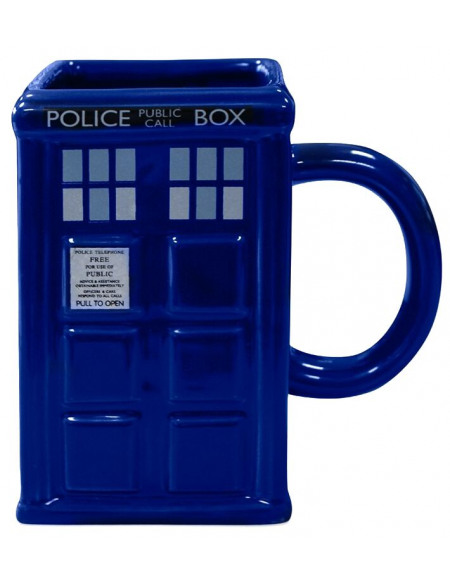 Doctor Who Tardis - Mug 3D Mug multicolore