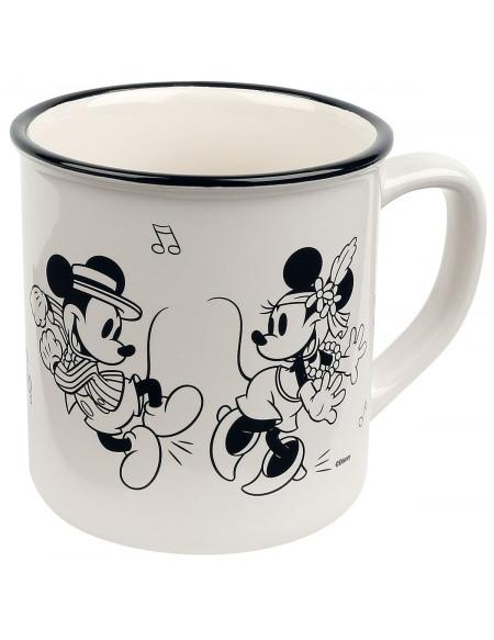 Mickey & Minnie Mouse Happy Time Mug multicolore