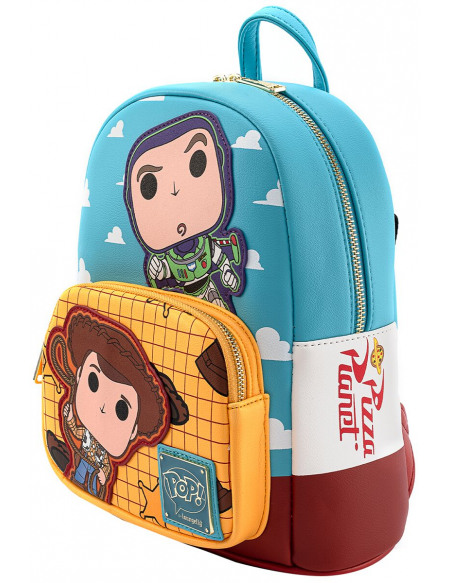 Toy Story Funko Pop! by Loungefly - Buzz & Woody Sac à Dos multicolore