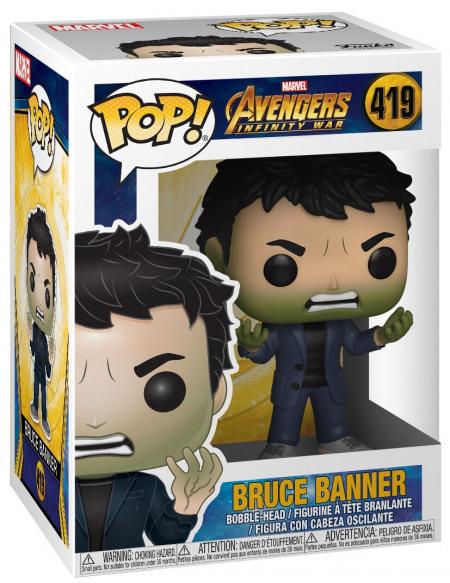 Avengers Infinity War - Bruce Banner- Funko Pop! n°419 Figurine de collection Standard