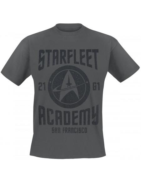 Star Trek Starfleet Academy T-shirt gris