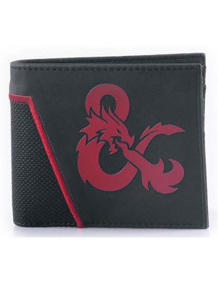 Dungeons and Dragons Esperluette Portefeuille noir/rouge