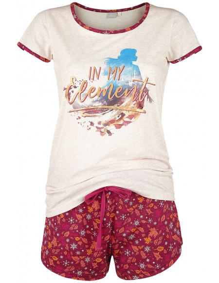 La Reine Des Neiges In My Element Pyjama multicolore