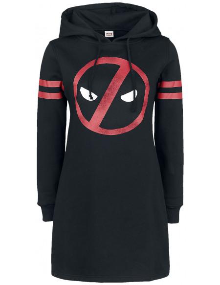 Deadpool Symbole Robe noir