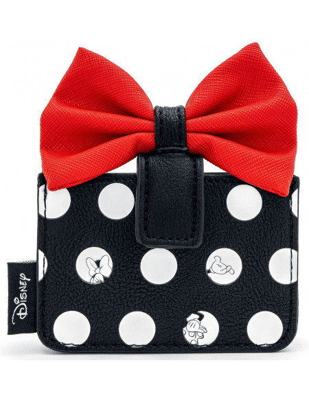 Mickey & Minnie Mouse Loungefly - Minnie Porte-cartes noir/rouge/blanc