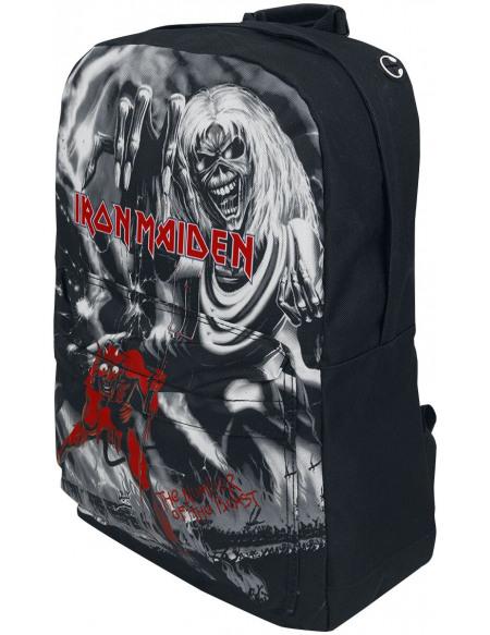 Iron Maiden Beast Pocket Sac à Dos noir