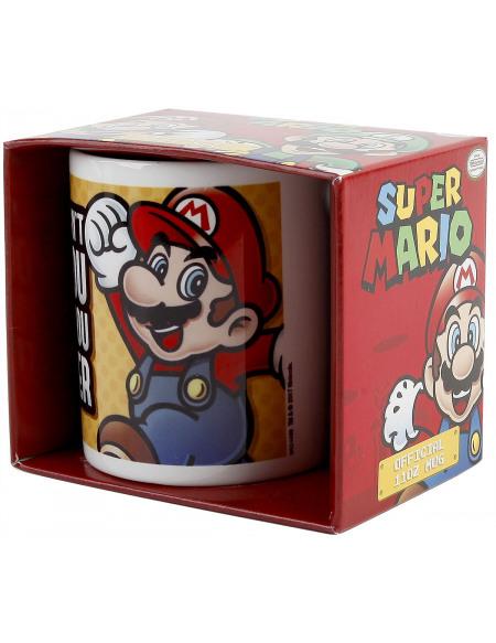 Super Mario Smaller Mug blanc