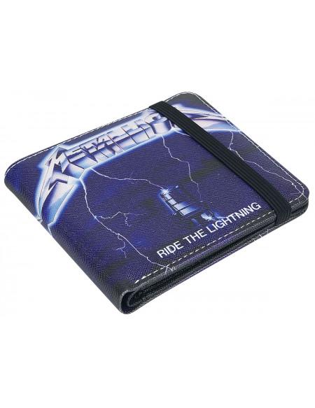 Metallica Ride The Lighting Portefeuille noir