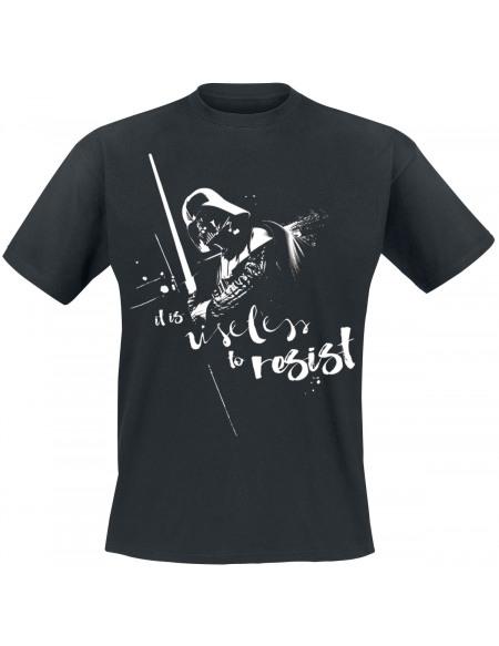 Star Wars Dark Vador - Useless To Resist T-shirt noir