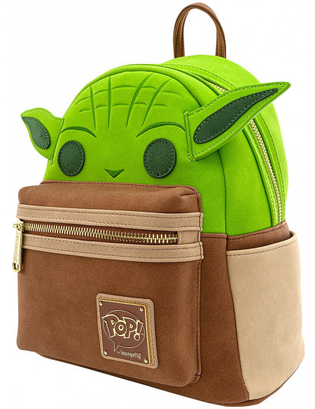 Star Wars Loungefly - Yoda Sac à Dos multicolore