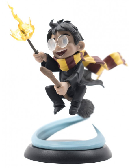 Harry Potter Figurine Q-Pop Le Premier Vol D'Harry Figurine de collection Standard