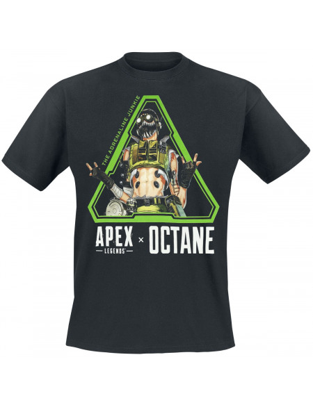 Apex Legends Octane T-shirt noir