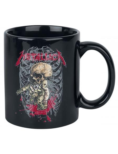 Metallica Alien Birth Mug noir