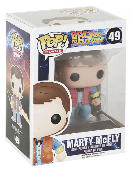 Retour Vers Le Futur Funko Pop! - Marty 49 Figurine de collection Standard