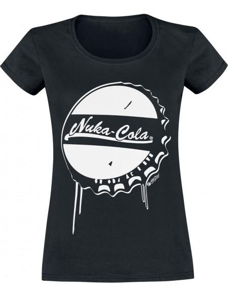 Fallout Nuka Cola T-shirt Femme noir
