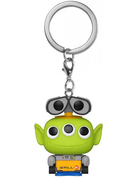 Toy Story Alien En Wall-E - Pop! Keychain Porte-clés Standard