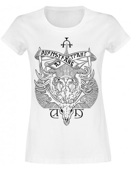 Harry Potter Blason Durmstrang T-shirt Femme blanc