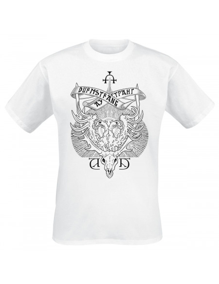 Harry Potter Blason Durmstrang T-shirt blanc