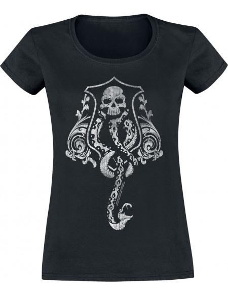 Harry Potter Marque Des Ténèbres T-shirt Femme noir
