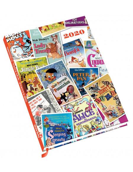 Classiques Disney Classiques Disney - Agenda A5 2020 Agenda multicolore