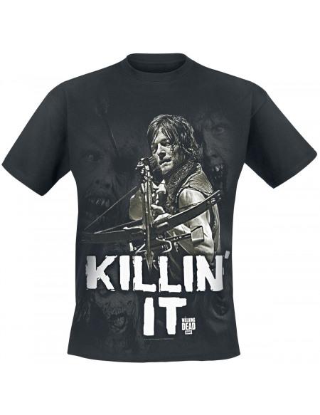 The Walking Dead Daryl Dixon - Killin' It T-shirt noir