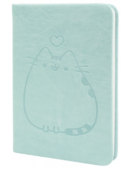 Pusheen Carnet De Notes A6 Pocket Premium Cahier turquoise