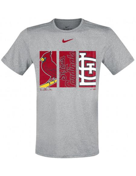 MLB Nike - St. Louis Cardinals T-shirt gris sombre chiné