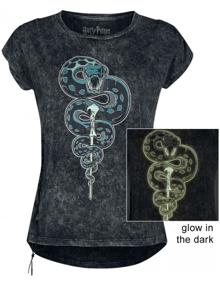 Harry Potter Nagini T-shirt Femme gris