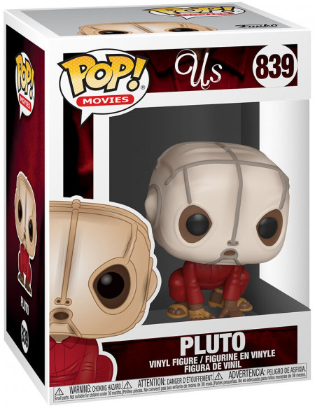 Wir Us - Pluto (Édition Chase Possible) - Funko Pop! n°839 Figurine de collection Standard
