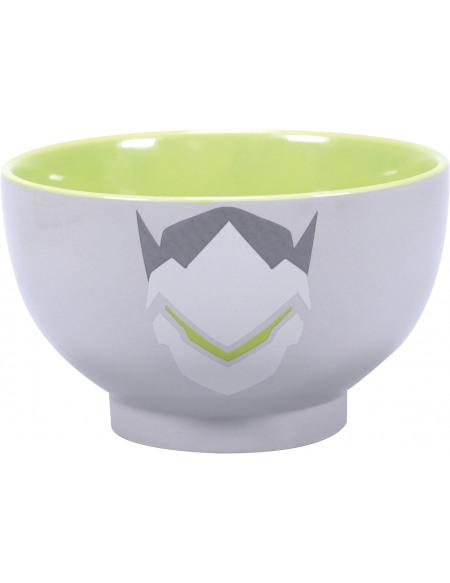 Overwatch Genji Bol céréales gris/vert/blanc