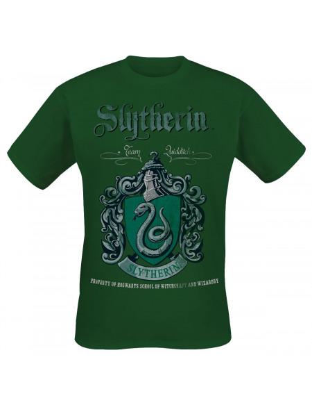 Harry Potter Serpentard - Quidditch T-shirt vert