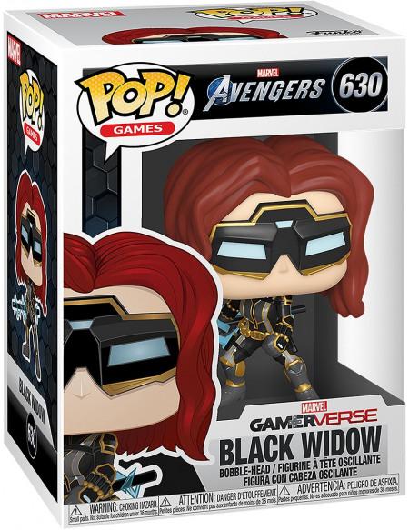 Avengers Black Widow (GITD) (Édition Chase Possible) - Funko Pop! n°630 Figurine de collection Standard
