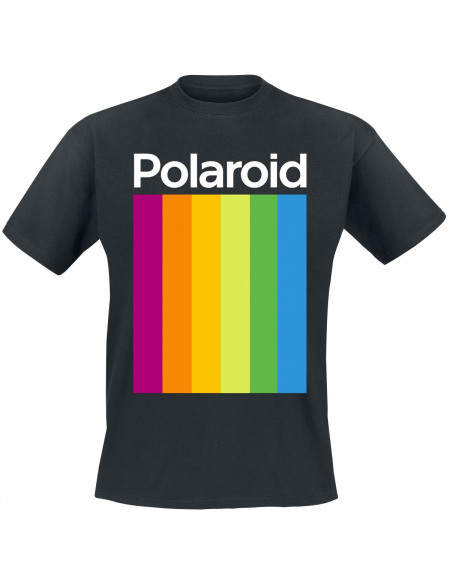Polaroid Logo T-shirt noir