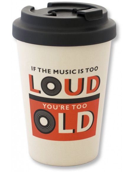 Vintage Music If The Music Is Too Loud Mug isotherme multicolore