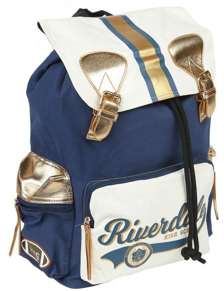Riverdale Rucksack Sac à Dos bleu/blanc