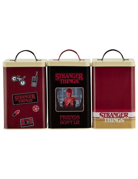 Stranger Things Retro Logo Boîte rangement Standard