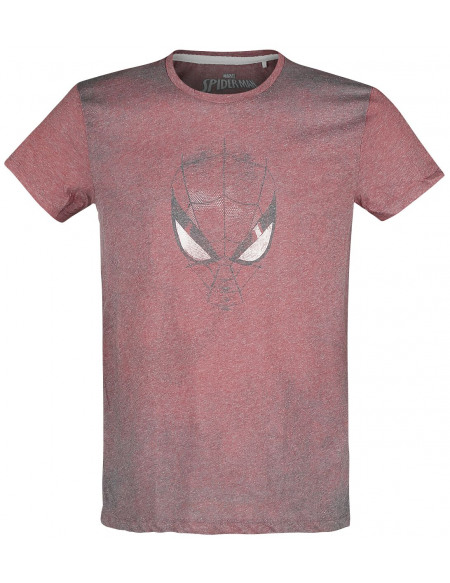 Spider-Man Masque T-shirt rouge